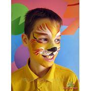Аквагрим на детском празднике фото