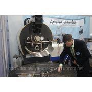 Жаровня газовая барабанная для жарки семечки кофе фото