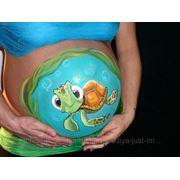 Бодиарт для беременных - Боди-арт для будущих мам фото
