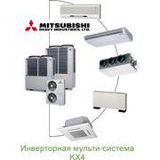 Мультизональные системы VENTERRA, Mitsubishi Electric поставка монтаж ООО «ВентРесурс» фото