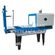 Складское упаковочное оборудование Альфапак-450Р термоусадочный аппарат защитной упаковки в полиэтилен. фото