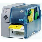 Принтер этикеток CAB A4+ термотрансферная печать 200 dpi Отделитель фото