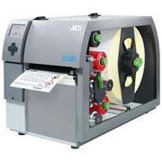 Принтер этикеток цветной CAB XC4 термотрансферная печать 300 dpi двумя цветами до 105,6 мм фото