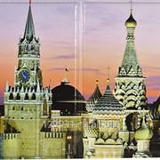 Обложка для пластиковых карт из ПВХ с нанесенным заламинированным изображением. фото