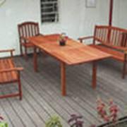 Производство садовой мебели фото