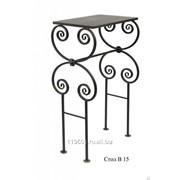 Стол ритуальный металлический Тюльпан Б фото
