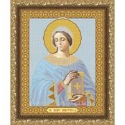 """Рисунок на ткани для вышивания бисером """"Святая Великомученица Анастасия"""" VIA4021 фото"""