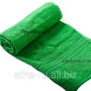 Простынь махровая, без бордюра (Зеленый) фото