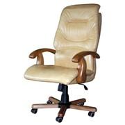 Кресло для руководителя «Блюз» дерево фото