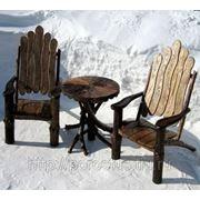 Мебель для отдыха из корнепластики фото