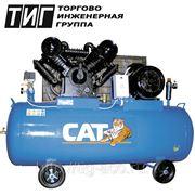 Поршневой компрессор 380В Давление 12,5 атм Производительность на выходе 1100 л/мин. Ресивер 300 л. фото