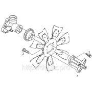 Элементы установки вентилятора охлаждения двигателя TCD 2013 L04 2V фото