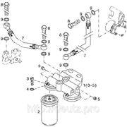 Установка топливного фильтра двигателя DEUTZ TCD 2013 L04 2V фото