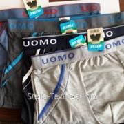 Мужские трусы боксерки UOMO фото
