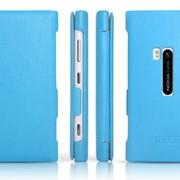 Чехол Icarer Nokia Lumia 920 Blue Leather фото