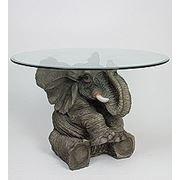ALf 006/0906 слоник - статуэтка стекло (46*53*53*79) (781542) фото