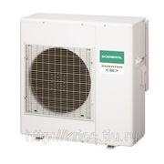 Внешний блок моноблока cерии Compact, тепловой насос WaterStage - Fujitsu General, инвертор, 1 фаза / 220 В / 50 Гц, охлаждение/нагрев, R410a. Данный фото
