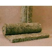Маты М2- 75 на метал. сетке с 1-стороны минераловатные прошивные, теплоизоляционные 60-80*1000*2000 фото