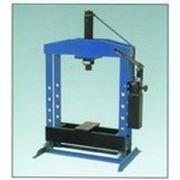 Пресс ручной, двухскоростной, гидравлический. Усилие 10 тонн WERTHER PR10B, PR10, ОМА 650, 651 фото
