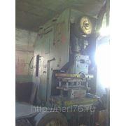 PEE III 160 (160т.с.) ERFURT - пресс механический одностоечный эксцентриковый фото
