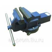 Тиски слесарные стальные 140 мм ТСС-140 фото