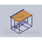 Станок для раскроя биг-бэгов (биг-бег, мягких контейнеров, big bag) с дном звезда (конверт)