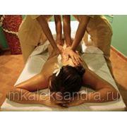 Парный массаж в 4 руки фото