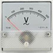 Вольтметр SЕ-80 щитовой 0-500В