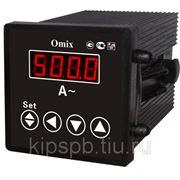 Амперметр цифровой Omix P44-A-1-0.5-K, P94-A-1-0.5-K, P77-A-1-0.5-K, P99-A-1-0.5-K, P1212-A-1-0.5-K фото