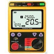 Тестер сопротивления изоляции Smartsensor AR3123. Мегаомметр. фото