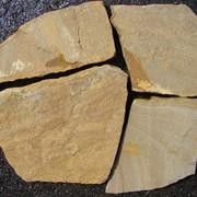 Песчаник серо-рыжий фото