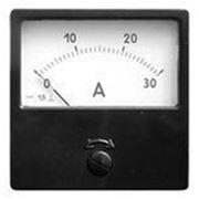 Амперметр 30/5А 80х80 AC через тр-р Э42700 фото