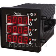 Амперметр цифровой Omix P44-AX-3-0.5, P77-AX-3-0.5, P99-AX-3-0.5 фото