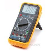 Мультиметр с функцией измерения емкости конденсаторов, температуры и частоты MY64 фото