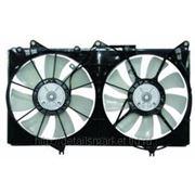 Диффузоры радиаторов с мотором и вентиляторами в сборе для Mitsubishi ASX с 2010 фото