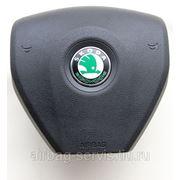 Крышка подушки безопасности водителя Skoda Fabia 2007-2010 - доставка по всей России