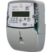 Счетчик электроэнергии однофазный многотарифный СОЭ-55/60 Ш-Т-412 220В; 5-60А фото