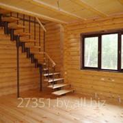 Изготовление лестниц из дерева и металла фото