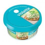 Сыр творожный VIOLETTE с зеленью, 140г фото