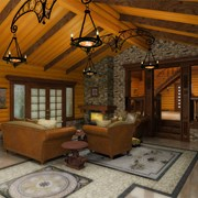 Внутренняя отделка домов фото