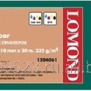 Глянцевая бумага Lomond 610мм X 30м ролик для плот. 235г (1204061) фото