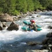Сплав по реке фото
