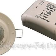 Датчик движения, угол 360 градусов, диаметр 6 м, монтаж в фальшпотолок, + 1 доп DM TEC 003 фото