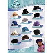 Шляпы фетровые женские, Оптом фото