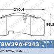 Колодки Тормозные 29165 78W39A-Z фото