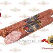 Колбаса Итальянская сырокопченая полусухая высшего сорта фото
