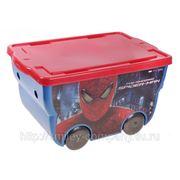 """Контейнер для хранения игрушек """"SPIDERMAN"""", 55 литров фото"""