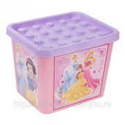 """Контейнер для хранения игрушек """"Princess"""", 20 литров фото"""