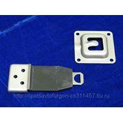 Фиксатор двери резина/металл фото