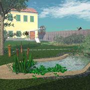 Устройство прудов ручьев и водопадов в саду фото